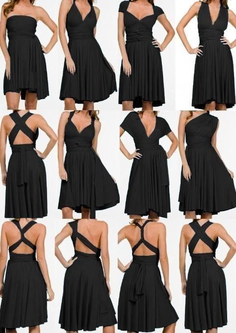 Платье трансформер способы завязывания